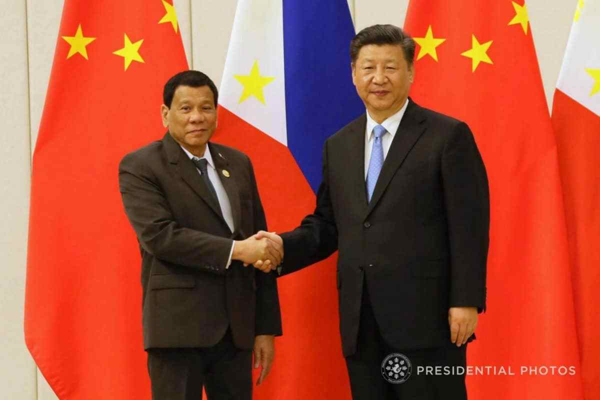 President Rodrigo Roa Duterte at the Bilateral Meeting with Chinese Government Officials Signing of Business LOIs and Dinner Hosted by President Xi Jinping 01-1