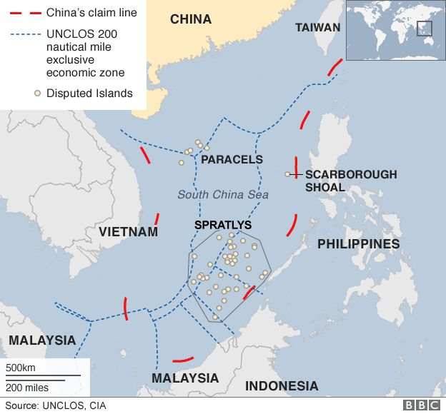 Southchinasea dispute